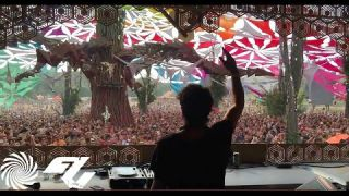 Emok Playing Ace Ventura & Captain Hook - The Jolly Roger (Future Frequency Remix) @ Ozora 2015
